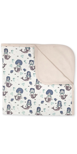 finn and emma, organic cotton baby blanket, swaddle blanket, comfort