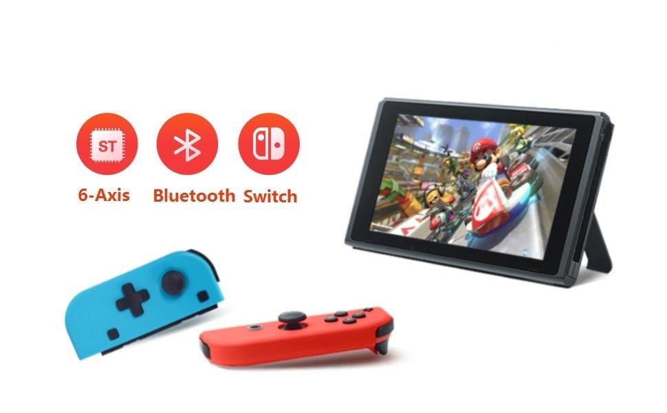 TUTUO Wireless Controller para Nintendo Switch, Gamepad Gaming ...