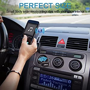 bluetooth receiver for to audio car and transmitter headphones usb speakers pc aux