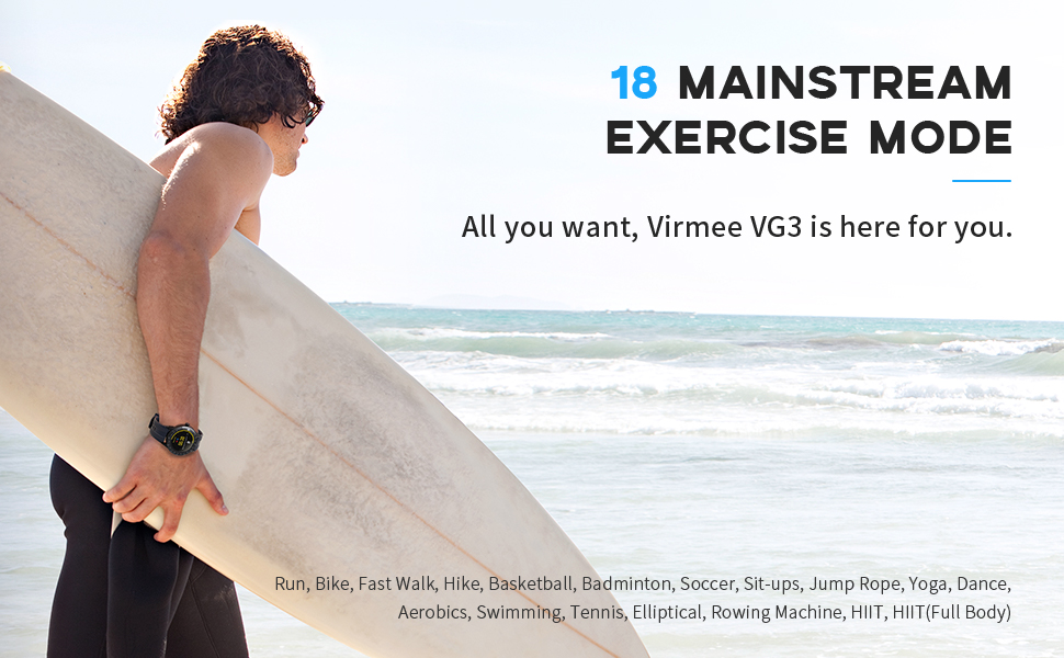 18 Mainstream Exercise Mode