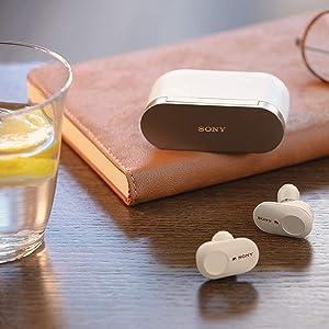 Sony WF-1000XM3 Noise Canceling Wireless Earbuds (Silver)