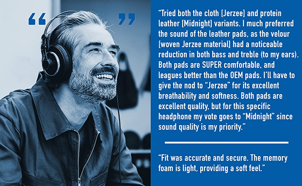 User reviews rave about sound signature and comfort of the ear cushions