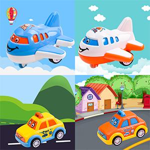 Mini Cartoon Bus/Taxi/Airplane