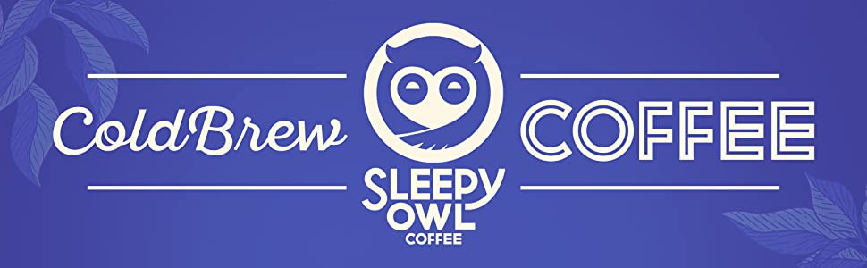 Sleepy Owl Coffee, Sleepy Owl, Cold Brew, Cold Brew Coffee