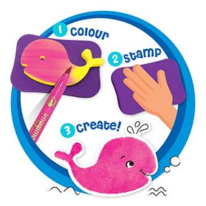 Colour, Stamp, Create