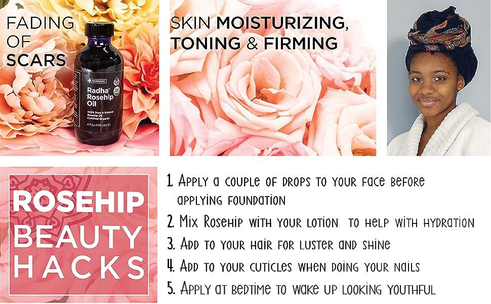 moisturizingin, toning, firming, anti-wrinkle