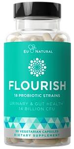 flourish probiotics + prebiotics for women