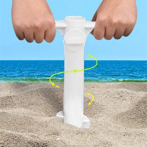 umbrella stand for beach  umbrella auger umbrella screw anchor umbrella holder for sand ohuhu  base