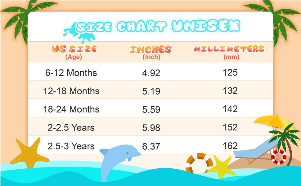 JIASUQI Baby Boys and Girls Cute Summer Pool Swimming Beach Water Shoes for Walk