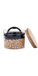 Airscape Glass Coffee and Food Storage Canister