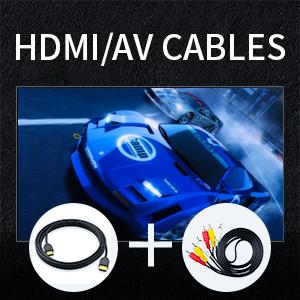 HDMI/AV cables