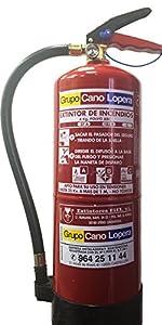 Grupo Cano Lopera   Extintor Universal Polvo Seco ABC con ...