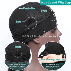headhand body wave human hair wig