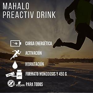Mahalo Drinks Mix Box. Monodosis Preactiv Drink+Performance Drink+Reload Drink, Bebidas Para Antes, Durante Y Después De La Actividad Deportiva - 12 X ...