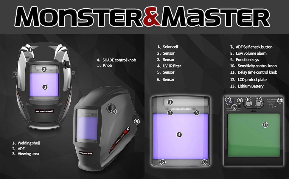 pro mask/welding helmet/miller mask/save phace welding helmet/vulcan welder/yes welder/deko welder