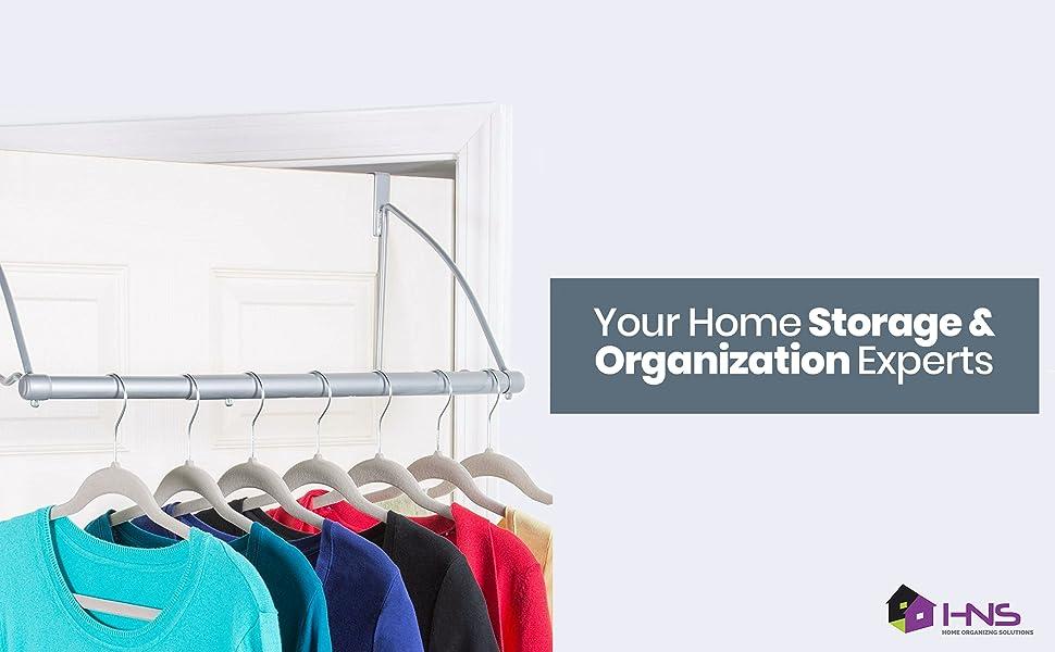 over-the-door clothes hanger
