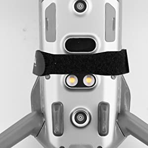 Avoid blocking the battery switch and the sensor under the drone during installation