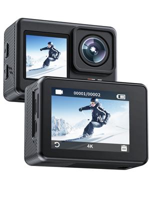 dual screen camera