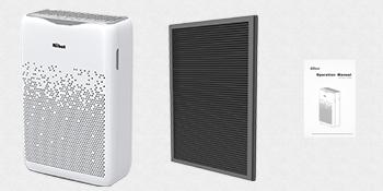 /Éliminateur de Poussi/ère Filtre Rempla/çable 4-en-1 GRAY Filtre de Rechange pour Aiibot Purificateur d/'Air Pollen et Mauvaises Odeurs