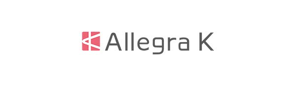 Allegra K Women's Plaids Print Tie-Bow Neck Dress 3/4 Sleeves Above Knee Work Office Dresses