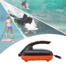 Oyria 20PSI Hochdruck-SUP-Luftpumpe f/ür aufblasbare Stand-Up-Paddle-Boards intelligente zweistufige Aufblas- und Abschaltfunktion 12-V-Gleichstrom-Autostecker Boote Entleerungsfunktion