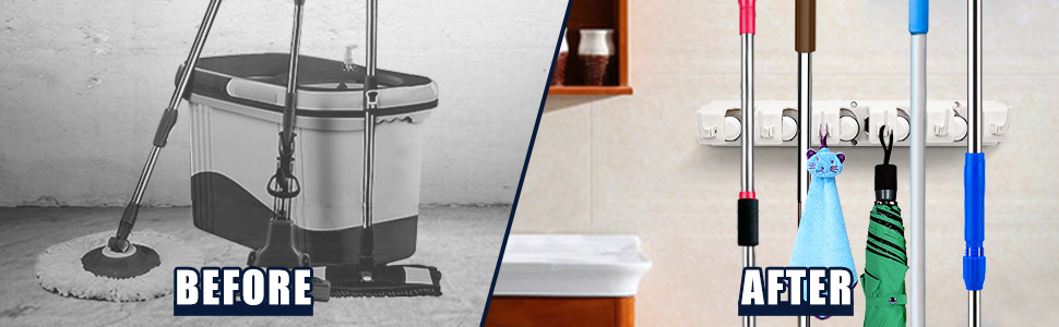 mop and broom holder online india