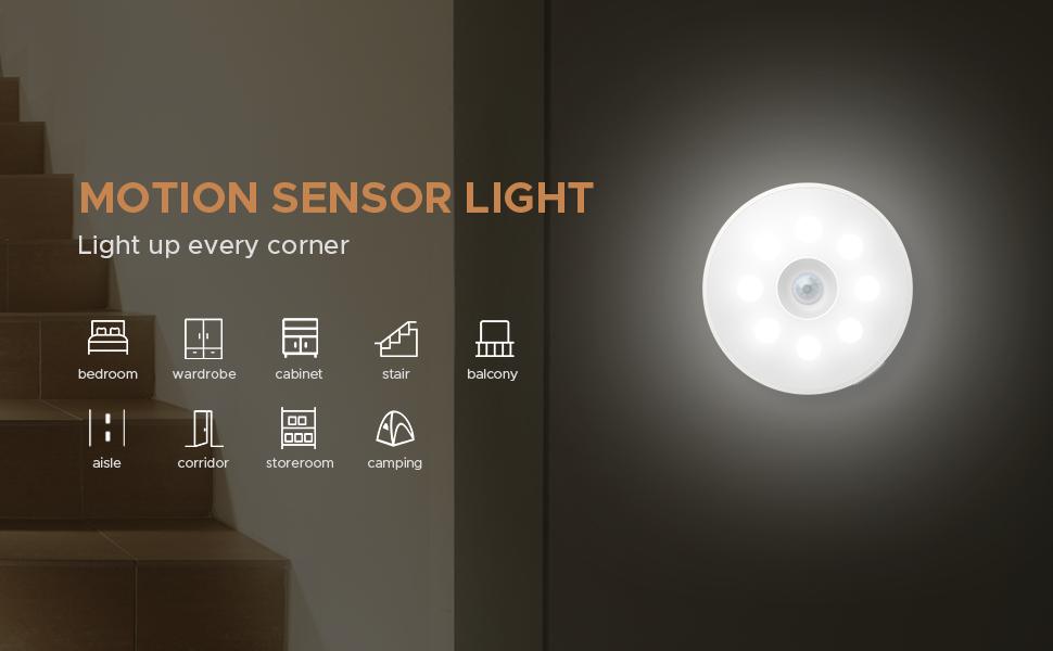 Motion Sensor Light Indoor