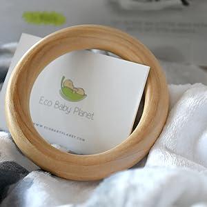 organic wooden ring