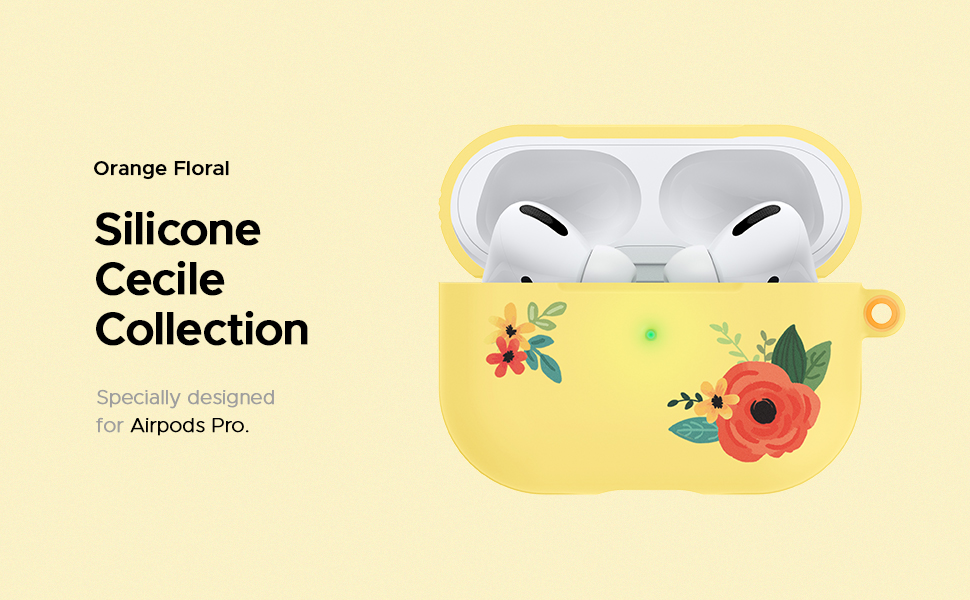 Silicone Cecile Collection for AirPods Pro
