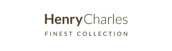 Henry Charles manuell kaffekvarn logotyp
