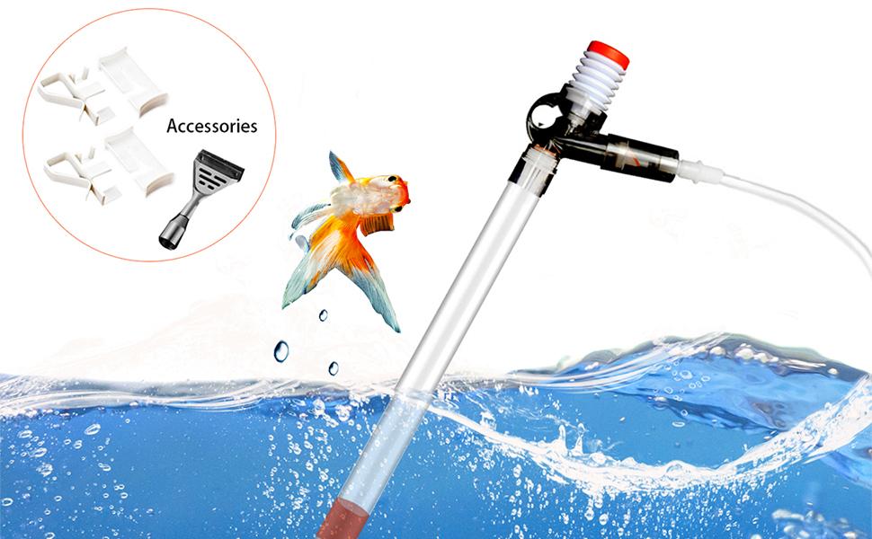 fish tank vacuum gravel cleaner