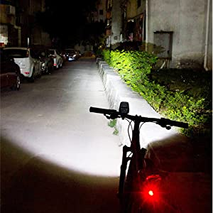 bike accessories high power torch bike lights front and back