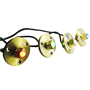 Used for Boat Yacht Pool Lights garboard lights underwater  brightest spotlight swim deck tank brass