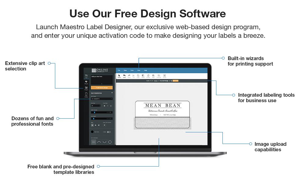 maestro label designer web based software design custom