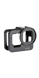 Aluminum Frame Mount for GoPro Hero 9 Black (Thick)