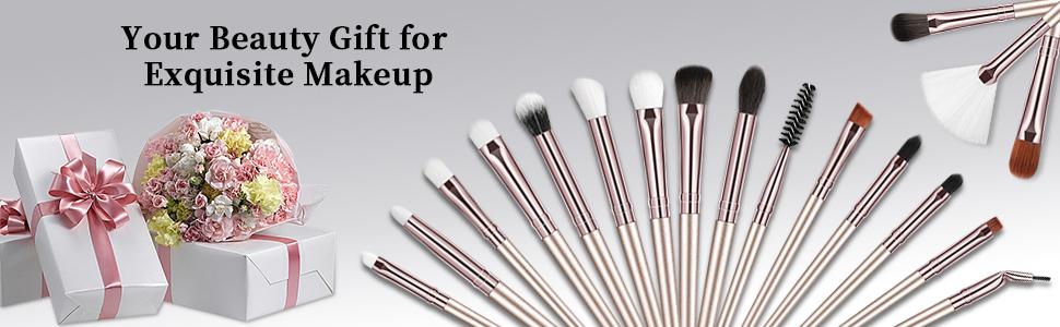 BESTOPE Complete Eye Makeup Brushes