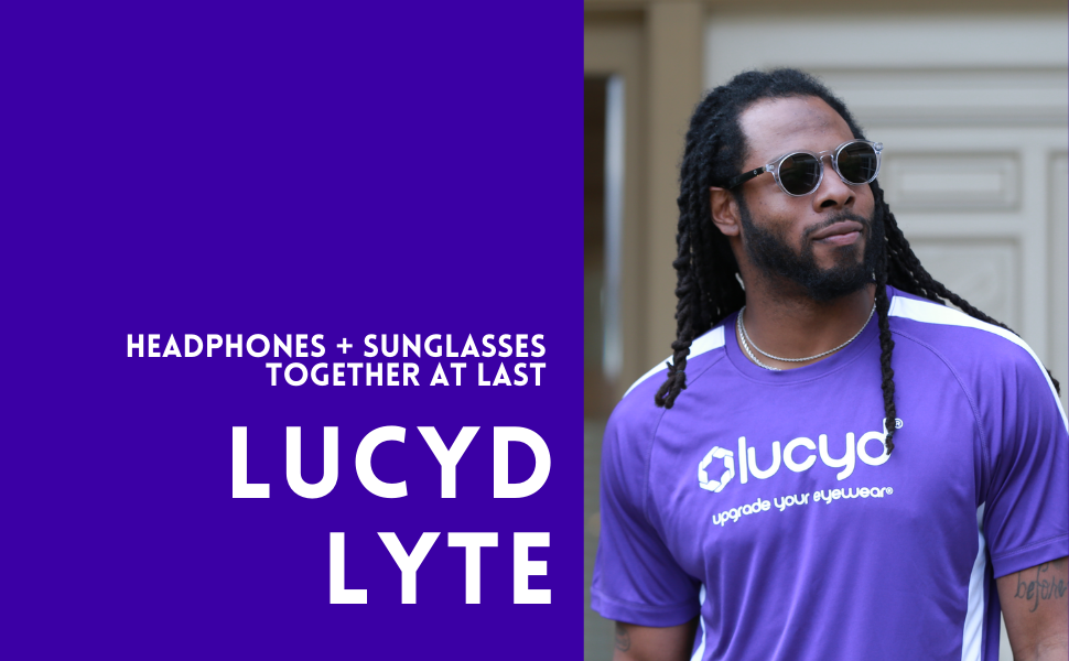 Richard Sherman with Lucyd Lyte