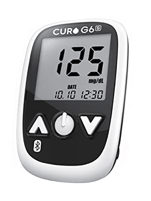 curo g6s o2 lifecare bluetooth blood glucose monitor kit blood sugar energy at home self test
