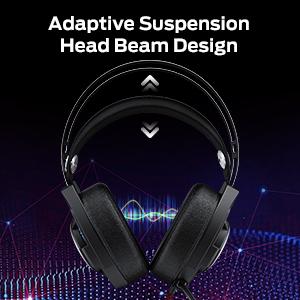 """""""Adaptive suspension head beam design"""
