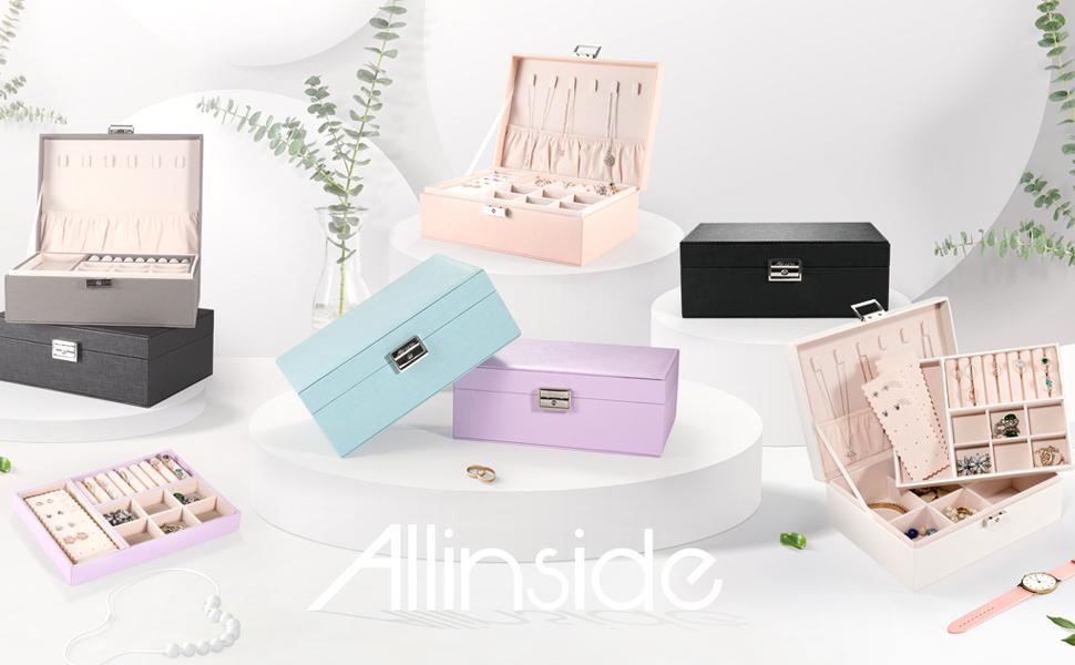 Jewelry Storage Organizer Box