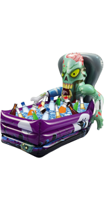 Inflatable Zombie Drink Cooler