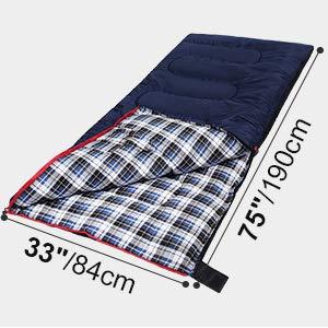 4 season sleeping bag winter cotton warm cold weather camping men wide fishing outdoor activities
