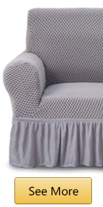 grey cover for sofa
