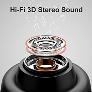 Bluetooth earbuds mifo O5PLUS hi-fi earbuds sound stereo deep bass music auriculares bluetooth