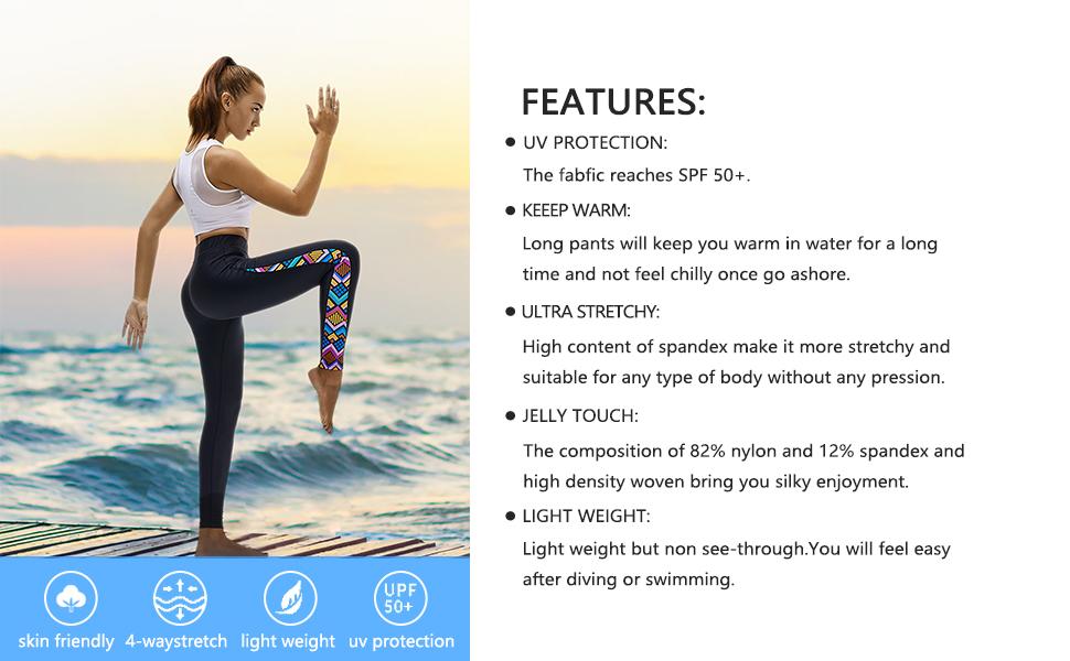 surfing leggings