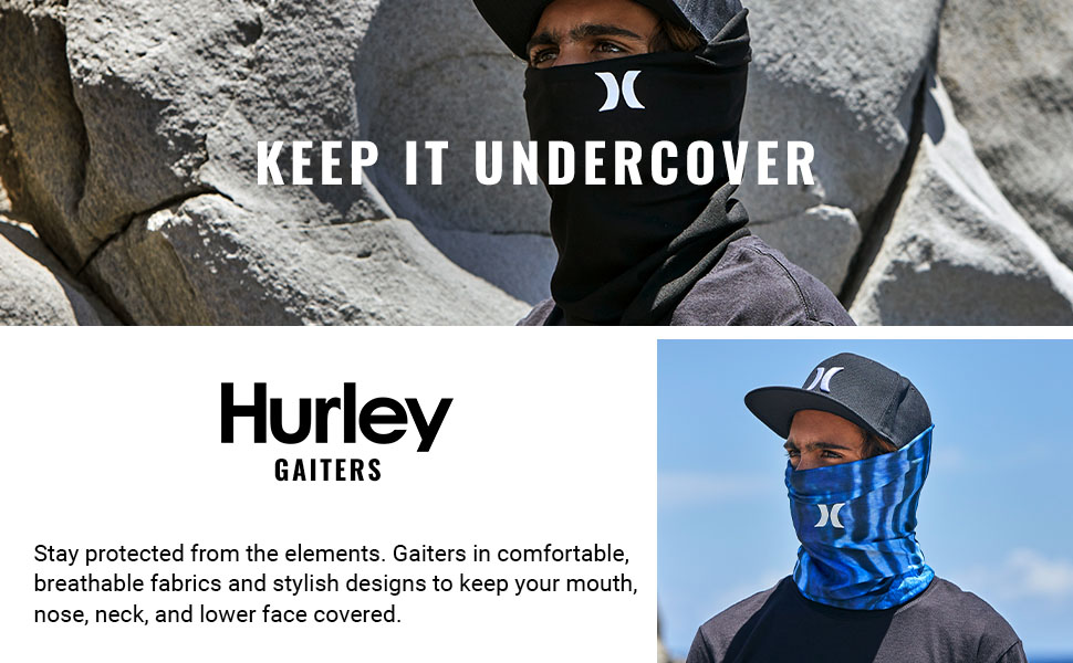 Keep It Undercover Stay protected from the elements.
