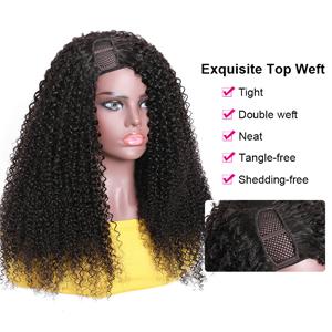 unice kinky curly hair wigs human hair wigs