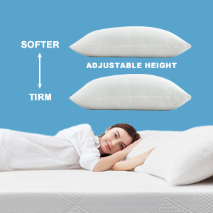 Adjust different memory foam Beckham size  Hote to obtain pillows with different comforlevels   t