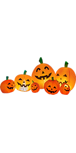 halloween blow up decorations