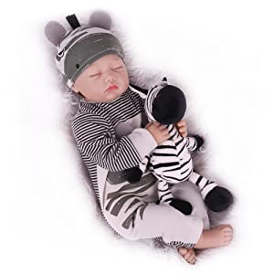 Realistic reborn baby for children